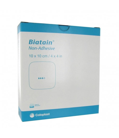 Polisani Materiais Médicos - CURATIVO BIATAIN NÃO ADESIVO 33410 10x10 COLOPLAST