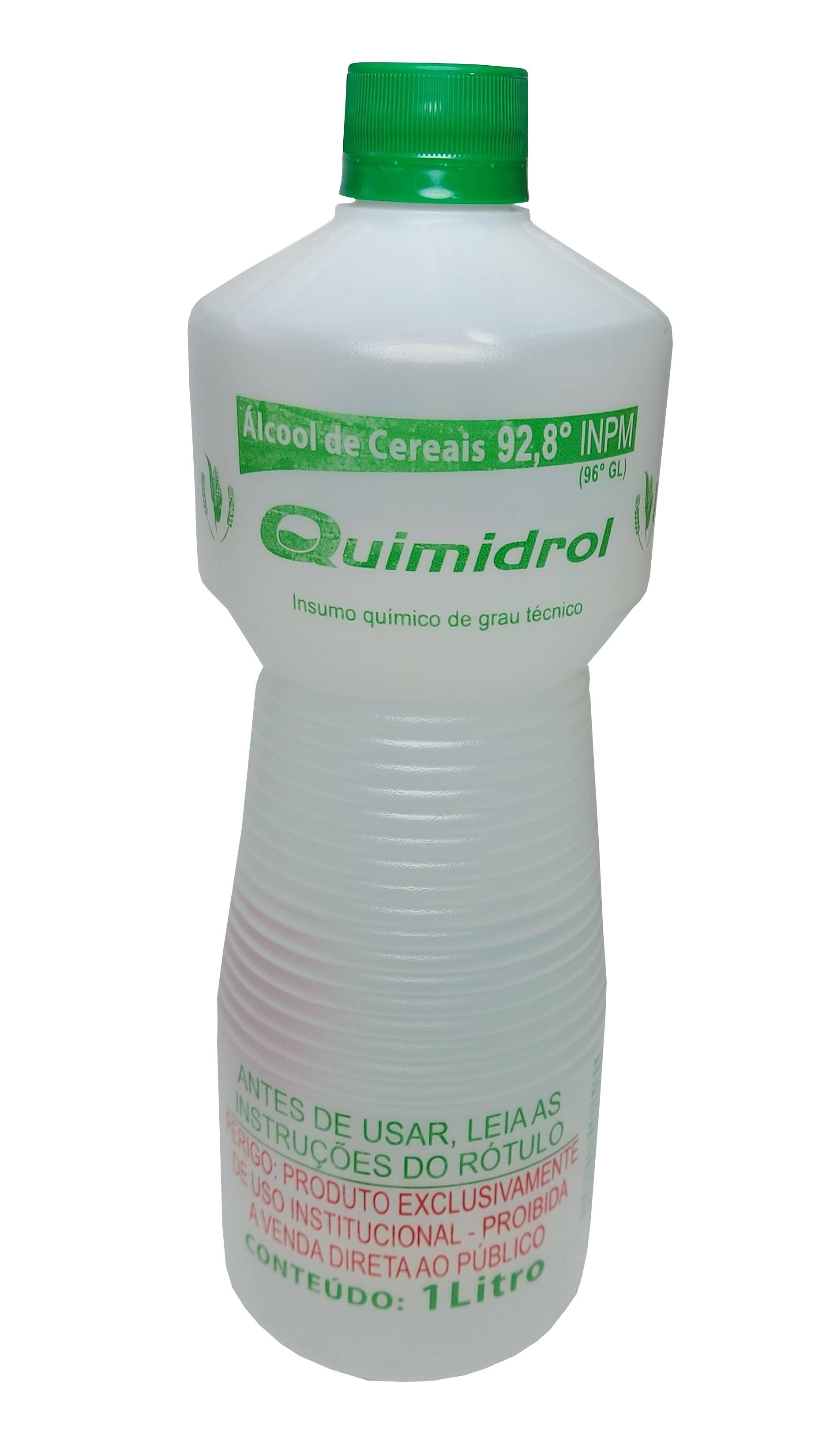 Polisani Materiais Médicos - ALCOOL DE CEREAIS QUIMIDROL 1L