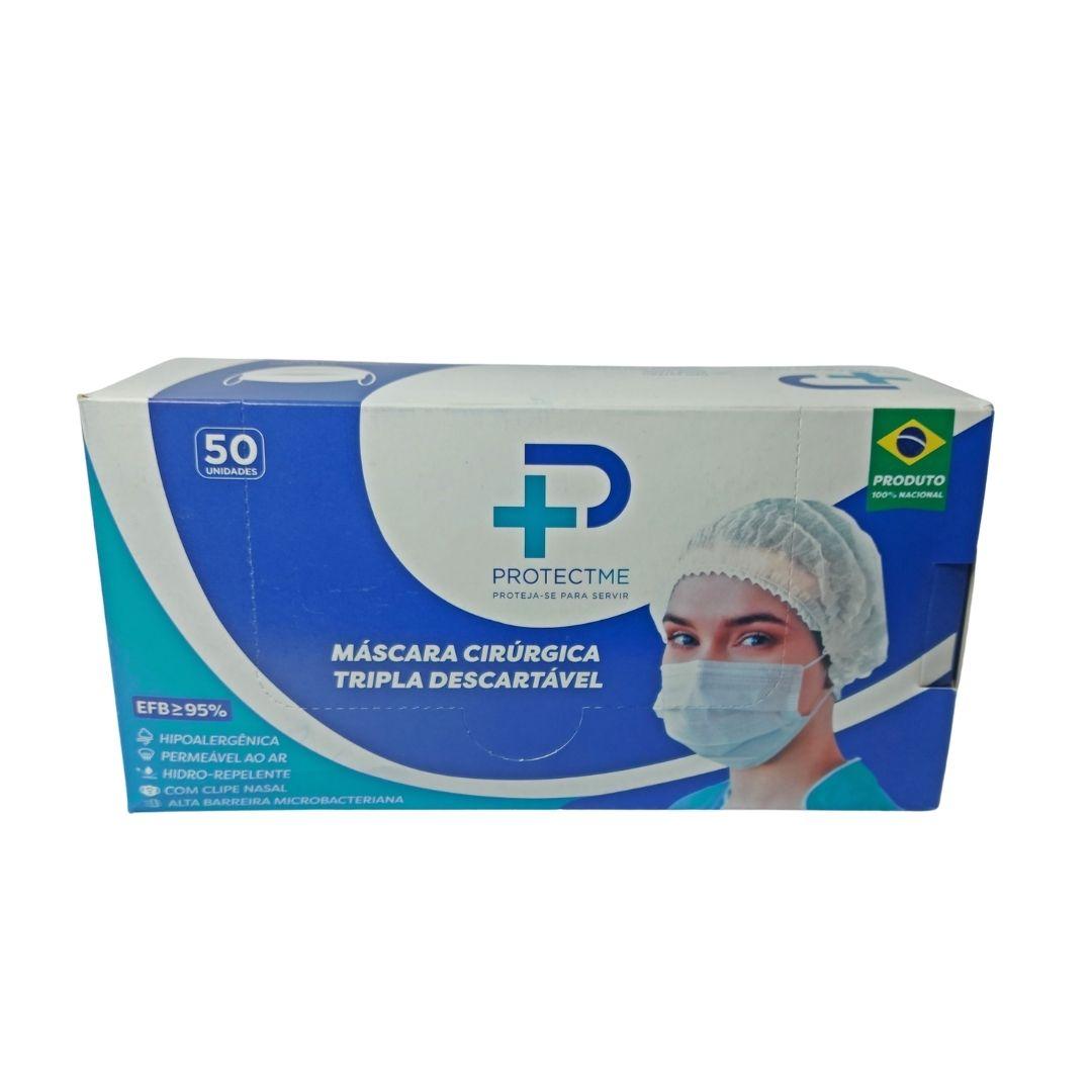 Polisani Materiais Médicos - MASCARA CIRÚRGICA DESCARTÁVEL TRIPLA PROTEÇÃO
