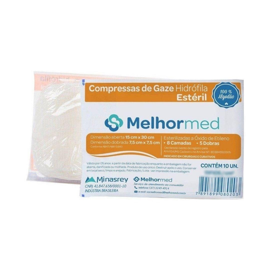 Polisani Materiais Médicos - COMPRESSA DE GAZE 9 FIOS