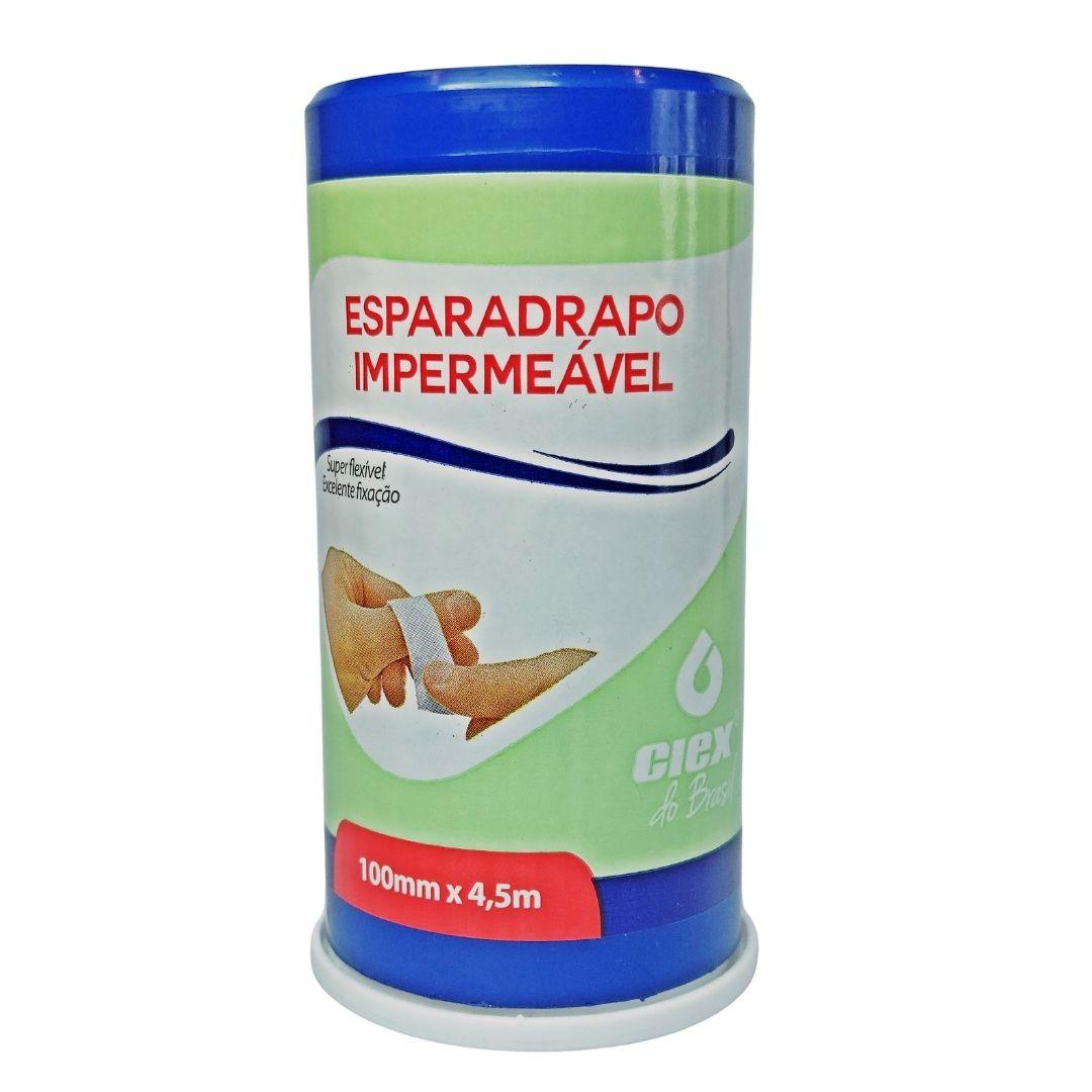 Polisani Materiais Médicos - ESPARADRAPO IMPERMEÁVEL BRANCO CIEX 100MMX4,5M