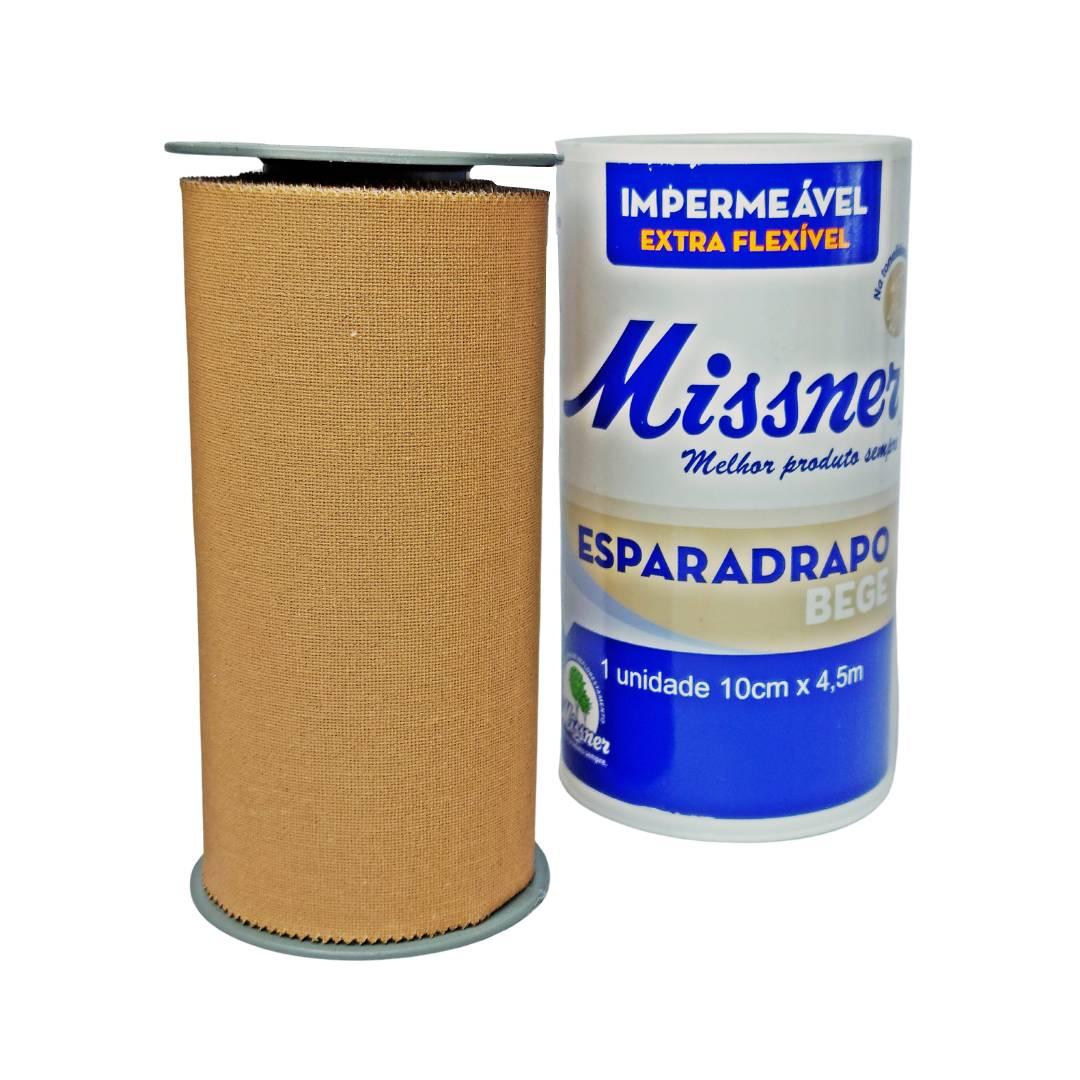 Polisani Materiais Médicos - ESPARADRAPO IMPERMEÁVEL BEGE MISSNER 100MMX4,5M