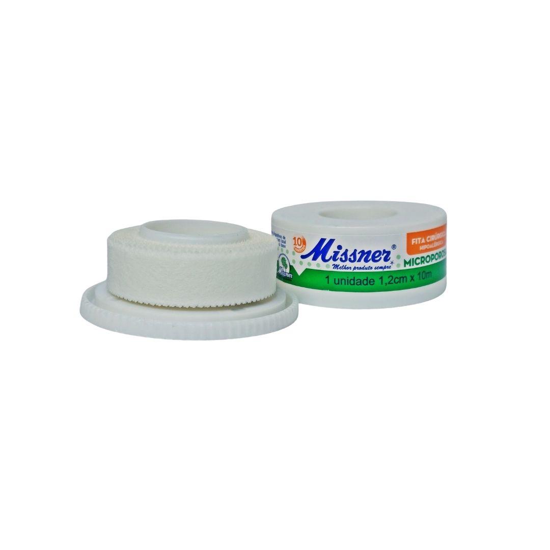 Polisani Materiais Médicos - MICROPORE MISSNER BRANCO 12MMX10M