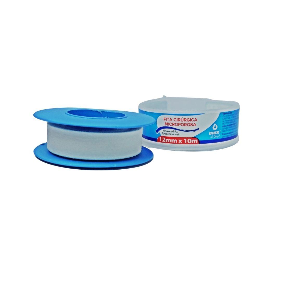 Polisani Materiais Médicos - MICROPORE CIEX BRANCO 12MMX10M