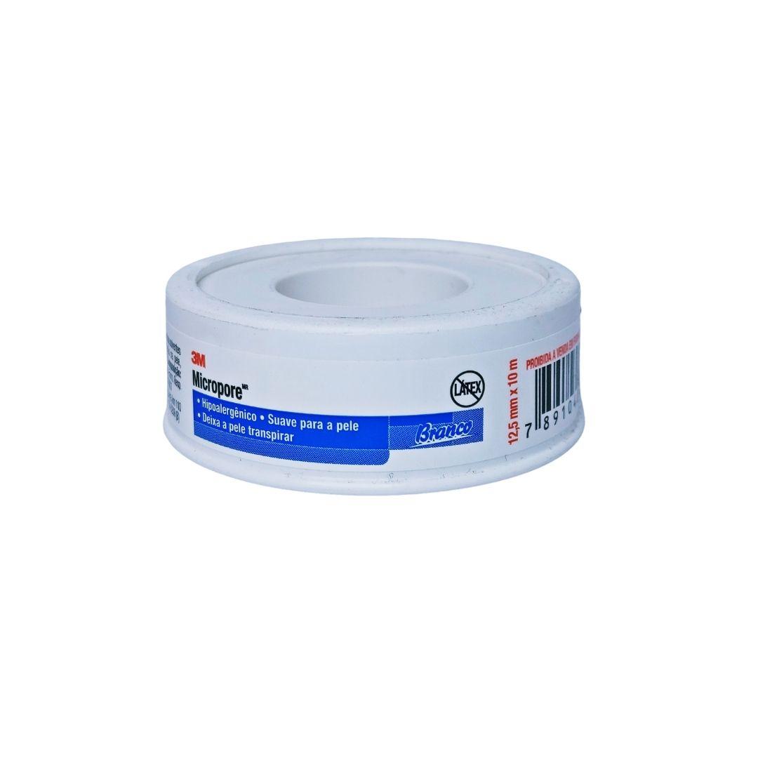 Polisani Materiais Médicos - MICROPORE 3M BRANCO 12,5MMX10M