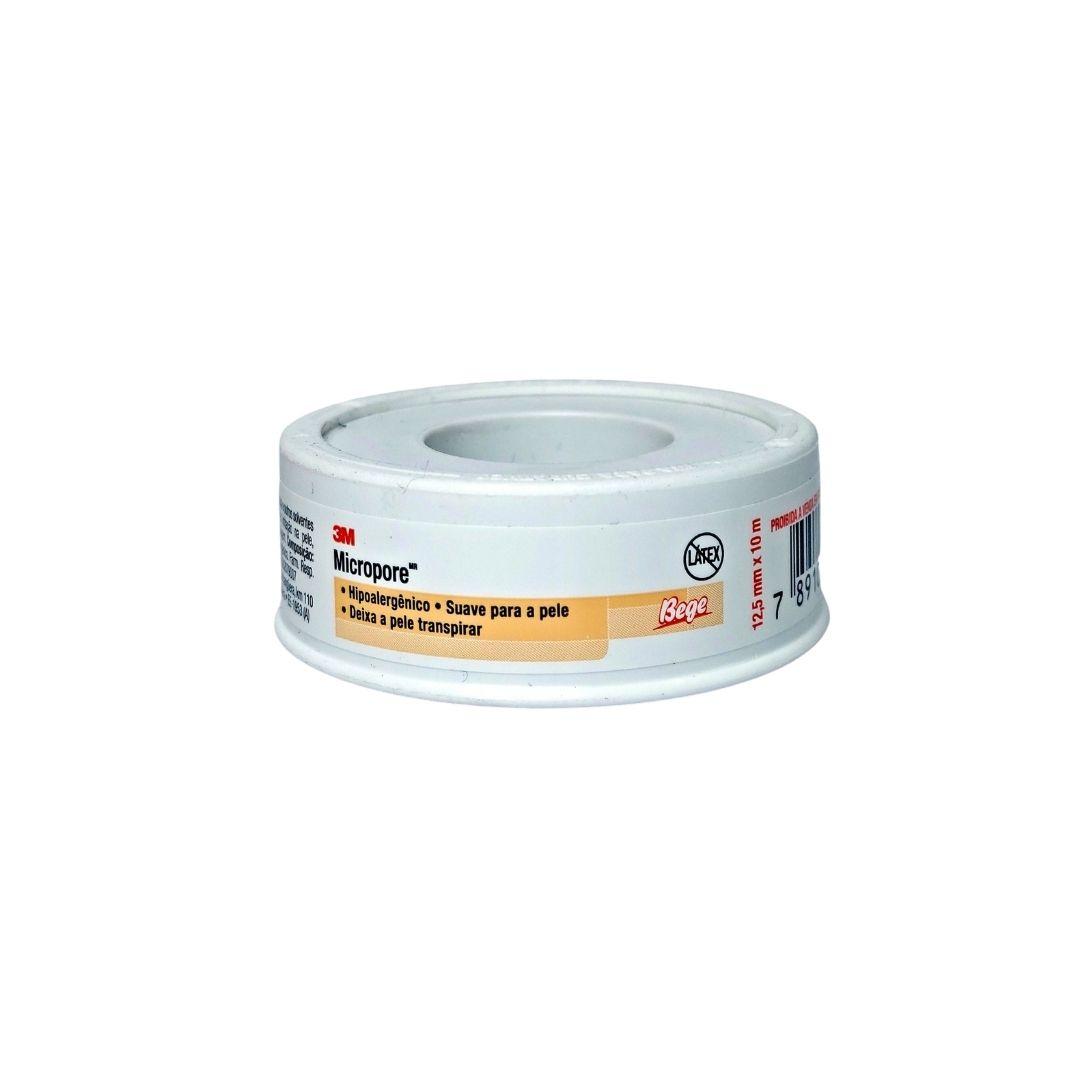 Polisani Materiais Médicos - MICROPORE 3M BEGE 12,5MMX10M