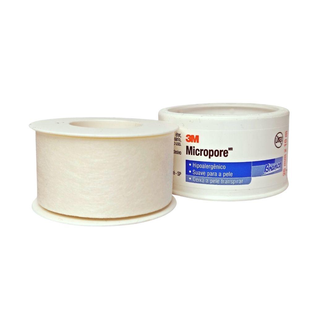 Polisani Materiais Médicos - MICROPORE 3M BRANCO 25MMX10M