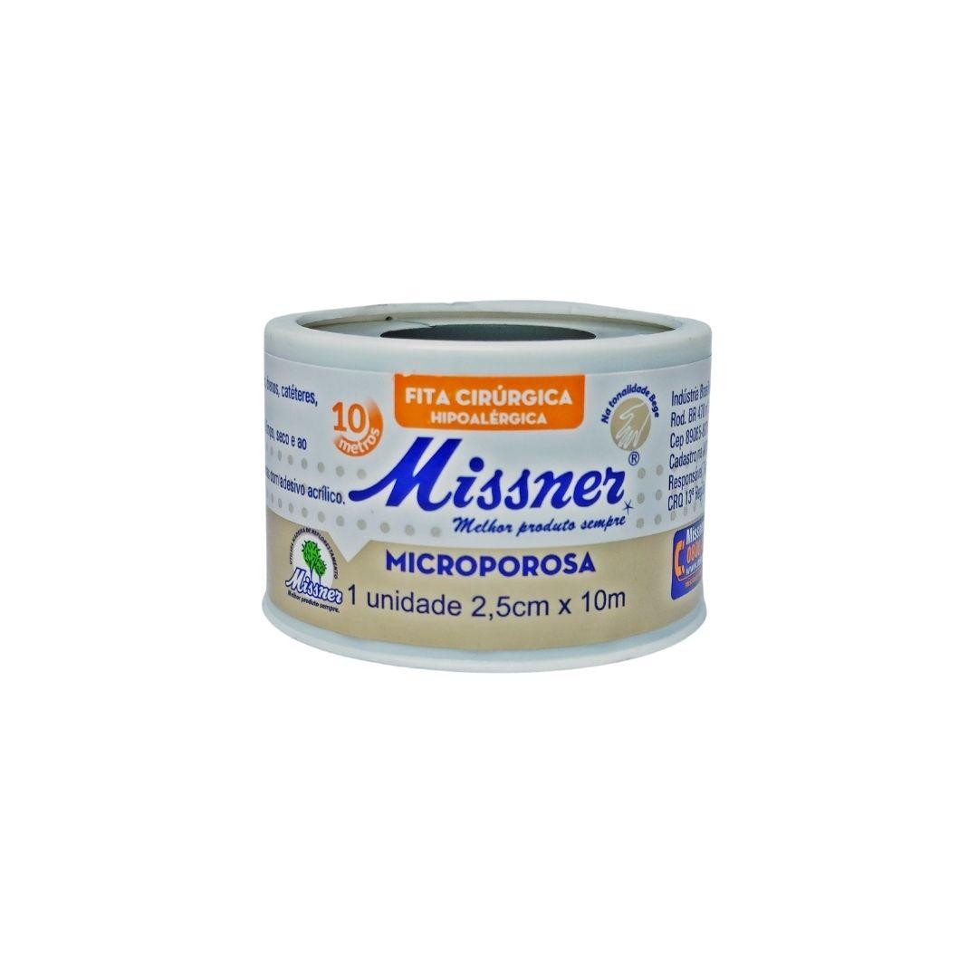Polisani Materiais Médicos - MICROPORE MISSNER BEGE 25MMX10M