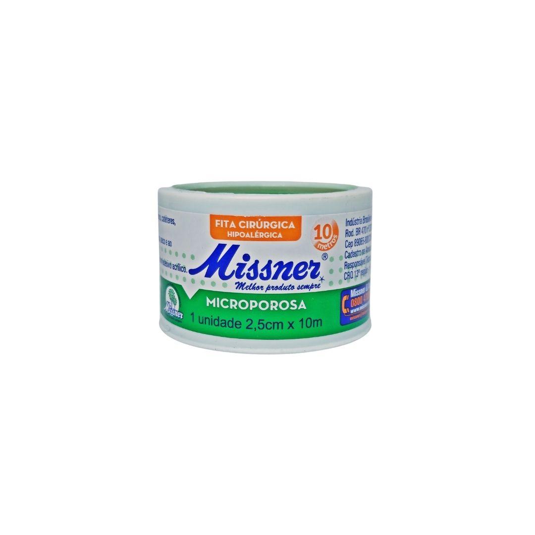 Polisani Materiais Médicos - MICROPORE MISSNER BRANCO 25MMX10M