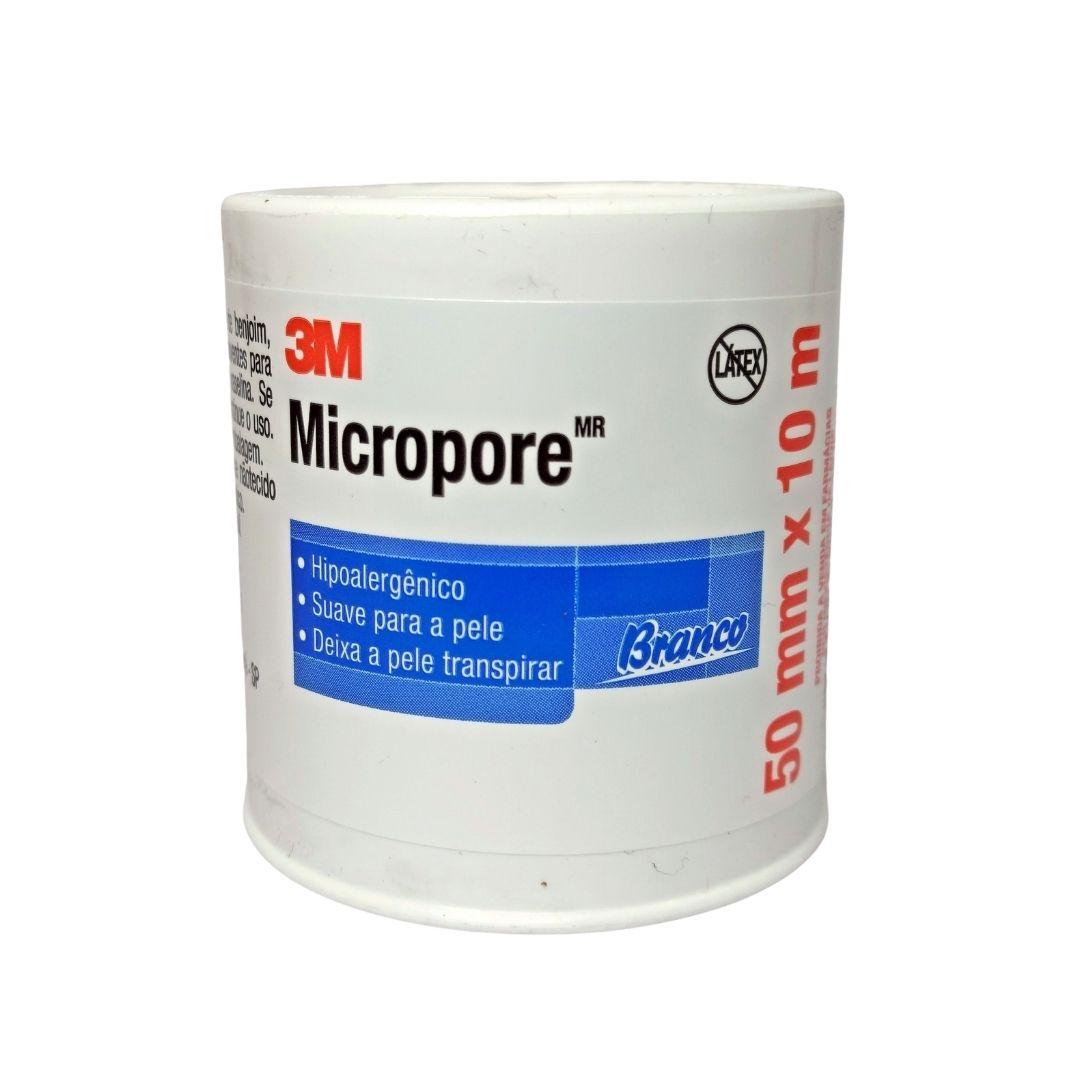 Polisani Materiais Médicos - MICROPORE 3M BRANCO 50MMX10M