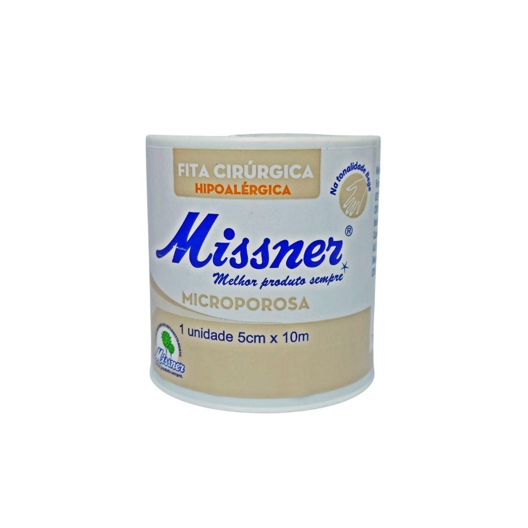 Polisani Materiais Médicos - MICROPORE MISSNER BEGE 50MMX10M