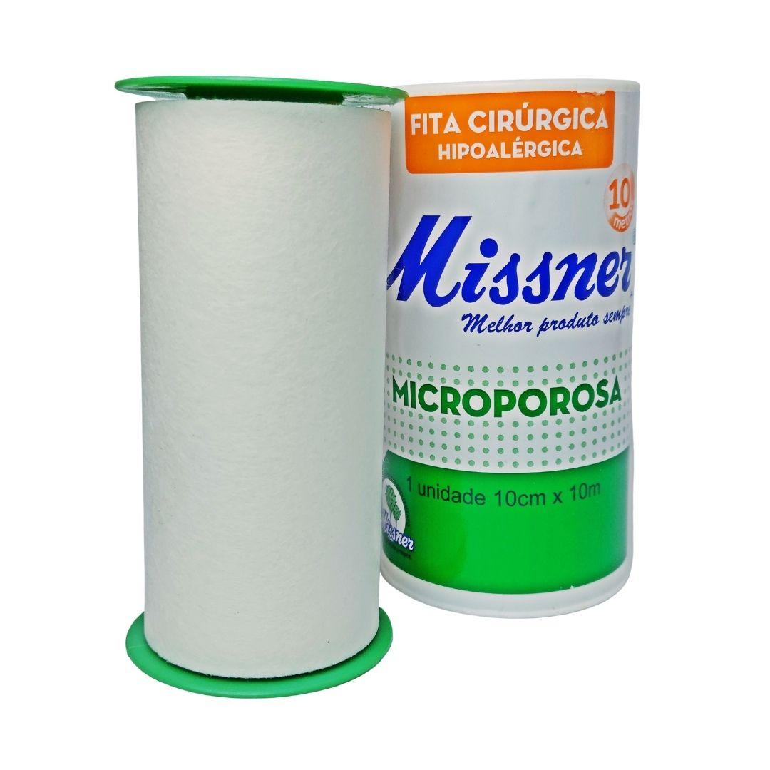Polisani Materiais Médicos - MICROPORE MISSNER BRANCO 100MMX10M