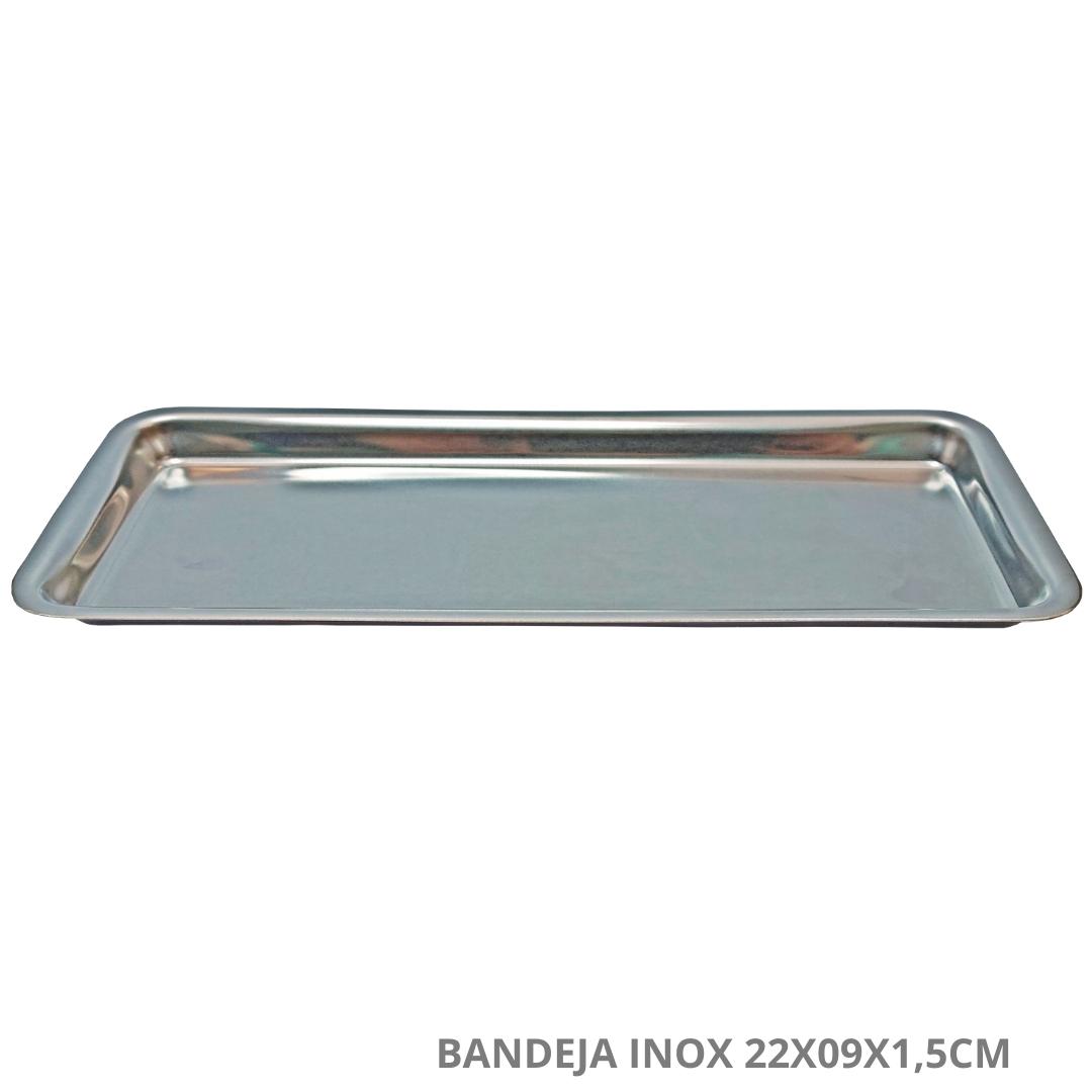 Polisani Materiais Médicos - BANDEJA INOX MILLENIUM 22X09X1,5 FAVA