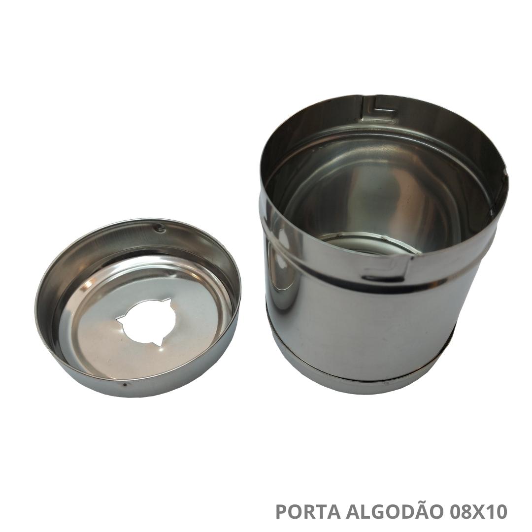 Polisani Materiais Médicos - PORTA ALGODAO SERVIDO 08X10 213 FAVA