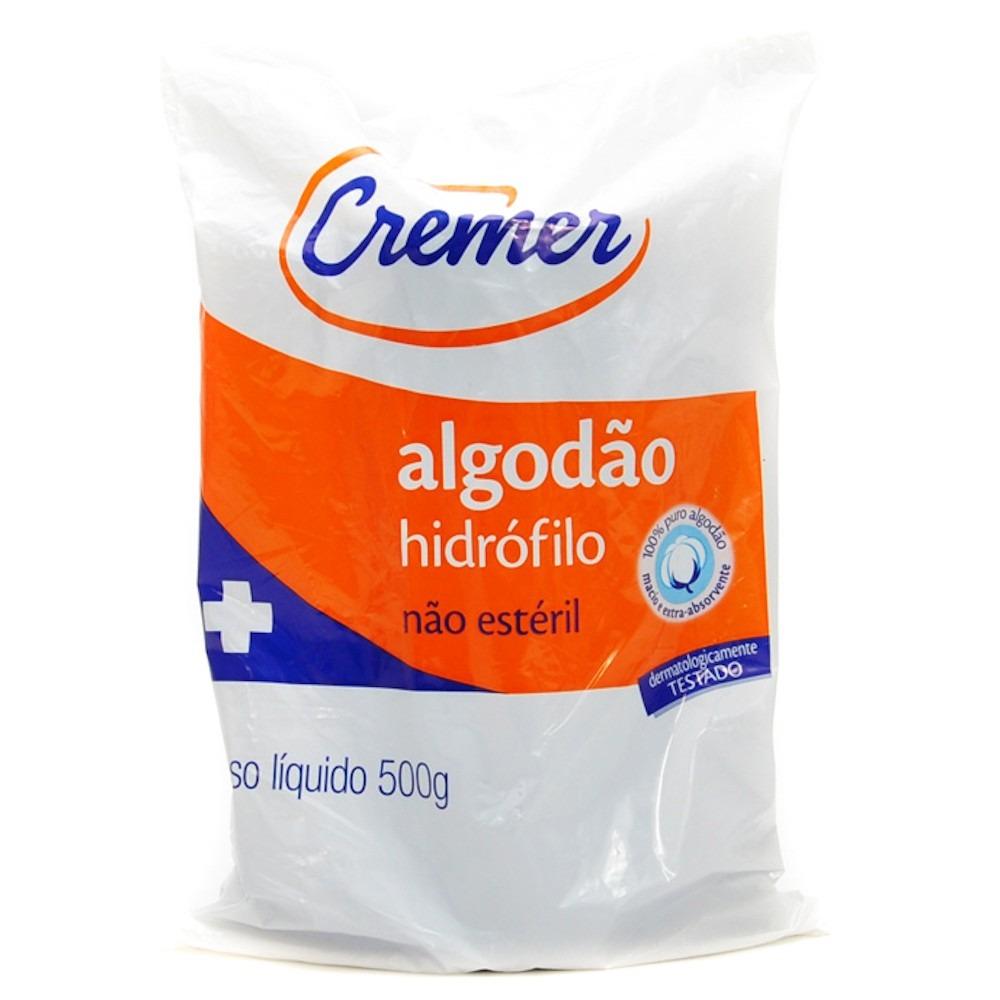 Polisani Materiais Médicos - ALGODÃO 500G CREMER